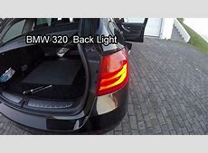 Rear Light replacement BMW 320 F30 F31 YouTube