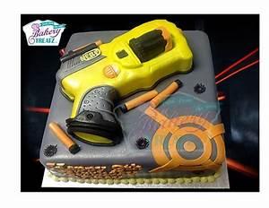 Nerf Gun Cake - CakeCentral com