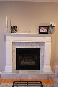 Tile, Over, Brick, Fireplace, Before, And, After