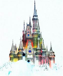 Disney Castle Drawing by costco-pizza on DeviantArt