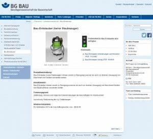Bg Bau Rechnungen Vorlegen : bg bau bezuschusst bauentstauber b i b i ~ Lizthompson.info Haus und Dekorationen