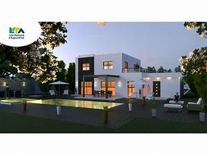 plan maison moderne 160m2 plan etage maison maison finir With marvelous plan de maison gratuit 5 plans maison toit plat 160m2 40 messages