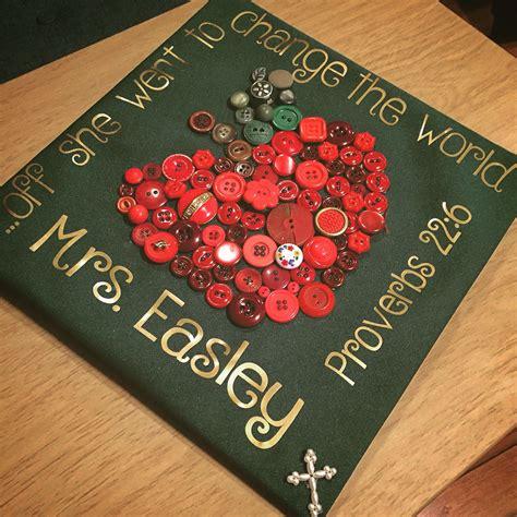 early childhood education major graduation cap teacher