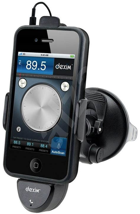 iphone fm transmitter dexim icruz car holder fm transmitter app for iphone 4