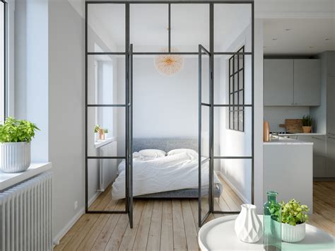 Bedroom Ls Glass by 3 Modern Studio Apartments With Glass Walled Bedrooms