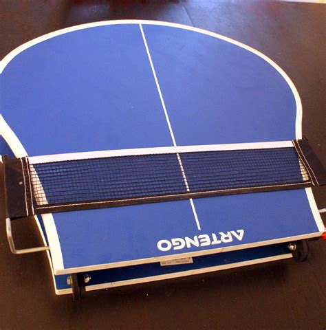 mini table ping pong pliable artengo luckyfind