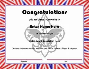 25 images of boy scout certificate template of the With cub scout certificate templates