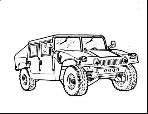 military hummer drawing army coloring pages superb hummer with grig3 org