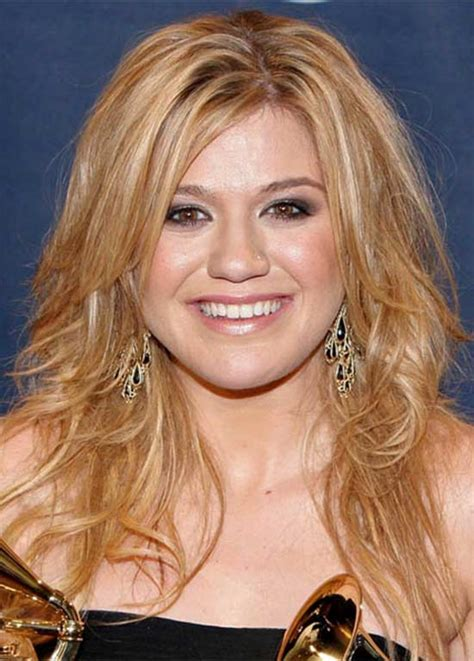 trendy kelly clarkson hairstyle ideas