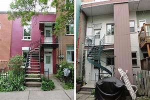 Maison Années 30 : la r sidence 8i me avenue situ e montr al transformer un duplex des ann es 30 en maison ~ Nature-et-papiers.com Idées de Décoration