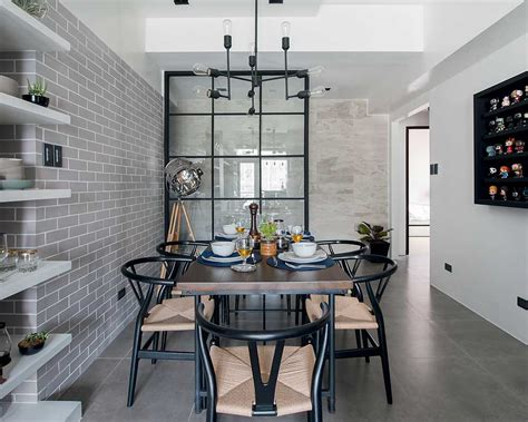 Minimalist Condo Living by You Need To See This Interior Designers Industrial Yet