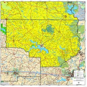 Union Parish Louisiana Map
