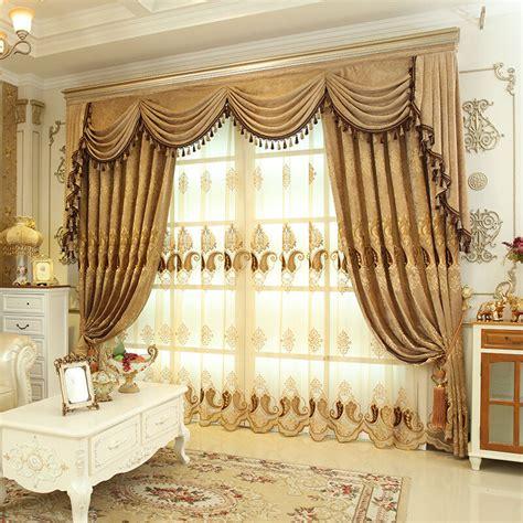 luxury velvet waterfall  swag valance curtains