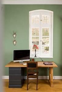 Wandfarbe Grau Grün : 43 besten wandfarbe gelb yellow bilder auf pinterest ~ Michelbontemps.com Haus und Dekorationen