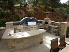 Outdoor Kitchen Plans by Outdoor Kitchen Designs Featuring Pizza Ovens Fireplaces And Other Cool Acce