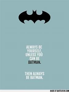 Batman Quotes Tumblr – Quotesta