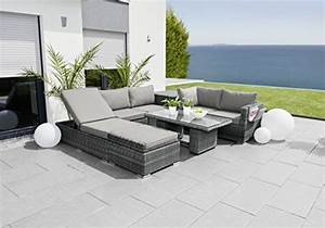 Tisch Mit Stauraum : greemotion eckbank mit tisch f r in und outdoor lounge mit stauraum unter den sitzfl chen ~ Eleganceandgraceweddings.com Haus und Dekorationen