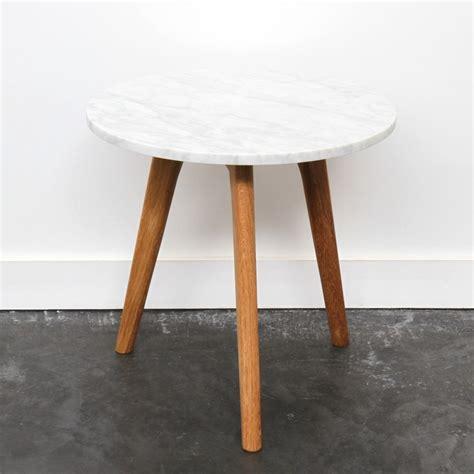 table basse marbre ronde table basse ronde bois et marbre elpea cuisine