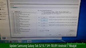 Update Samsung Galaxy Tab S2 9 7 Sm