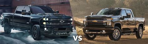 2019 silverado hd 2020 chevy silverado hd vs 2019 chevy silverado hd