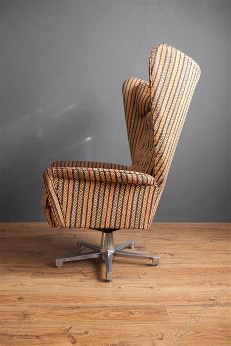 antiques atlas retro swedish swivel wing chair