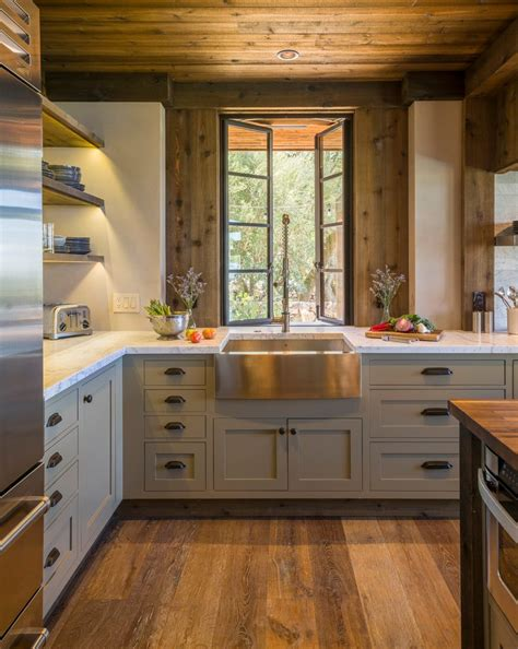 rustic beech kitchen cabinets beech wood cabinets kitchen rustic with marble tile 4959