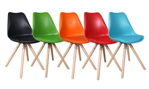 kuipstoel olan chaise design avec coussin groupon
