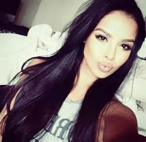 Pretty Girls with Black Hair and Dark Eyes