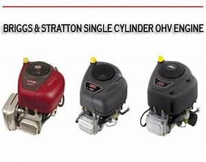 Single Cylinder Ohv Engine Service Repair Manual