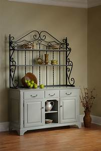 Open Front Buffet with Baker's Rack - Town & Country Furniture