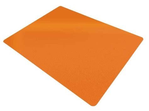 nadelfilz fliesen schutzmatte schreibtischstuhl orange schutzmatten com