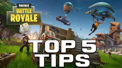 top  tips  battle royale fortnite information youtube