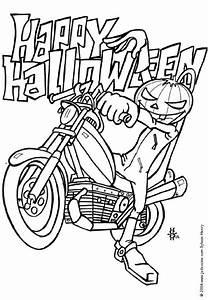 Dessin Qui Fait Tres Peur : dessin colorier halloween a imprimer qui fait peur ~ Carolinahurricanesstore.com Idées de Décoration