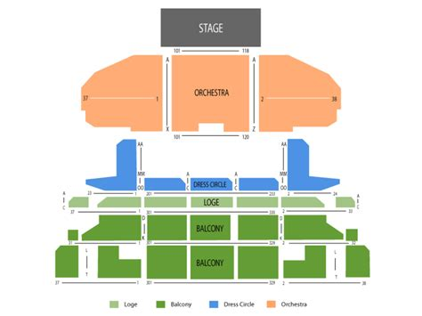 cadillac palace ticketing cadillac palace theatre seating chart and tickets
