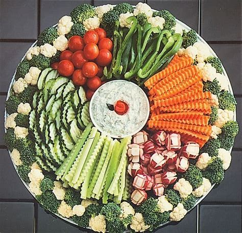 20 Yummy Veggie Trays For Any Occasion Food