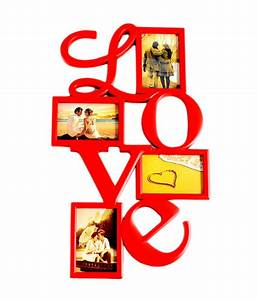Deep Love Collage Frame with 4 photos: Buy Deep Love