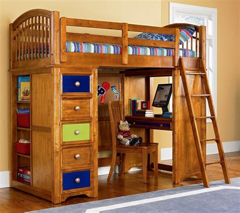 bunk bed with cool bunk bed desk combo ideas for sweet bedroom