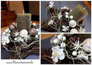 Weihnachtsdeko Basteln Für Den Tisch : weihnachtsdekoration florale dekorationen f r ihr zuhause ~ Whattoseeinmadrid.com Haus und Dekorationen