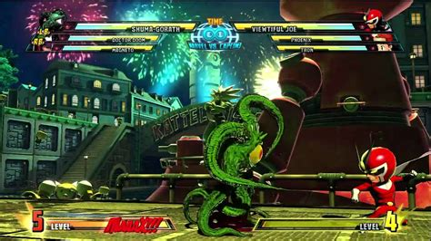 marvel  capcom  dlc shuma gorath gameplay hd p youtube