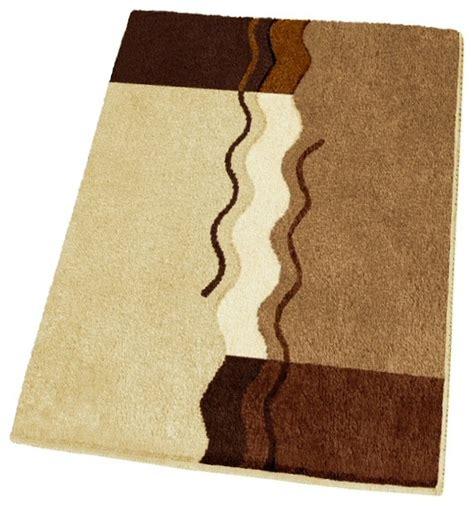 small bath rugs non slip small modern brown bath rug 21 7 quot x 25 6