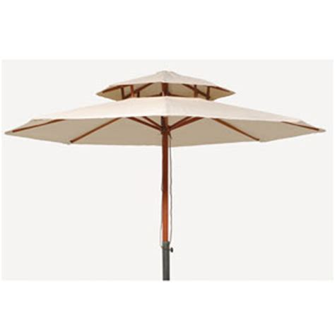 patio umbrellas 9 ft 2 tier market umbrella 9323 lb