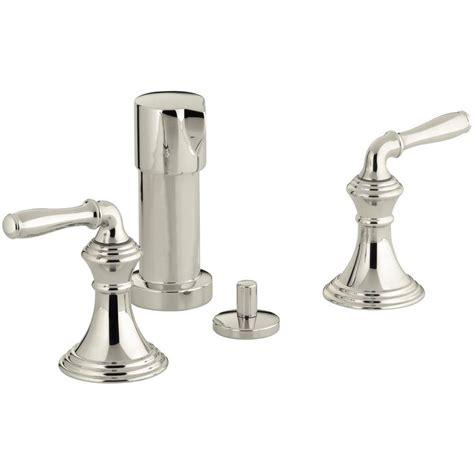 Kohler Devonshire Faucet Leaking by Kohler Devonshire 2 Handle Bidet Faucet In Vibrant