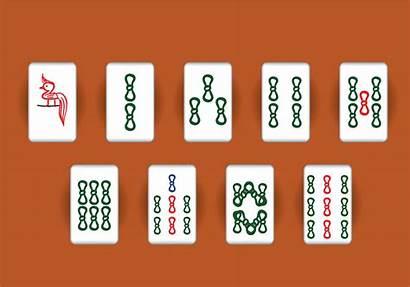 Mahjong Vector Tiles Clipart Icon Graphics Symbol