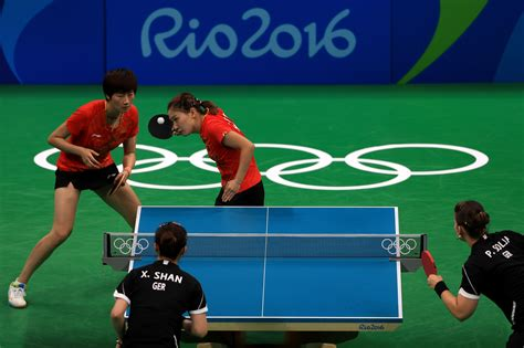 Table tennis had appeared at the summer olympics on eight previous occasions beginning with the 1988 summer olympics in seoul. Olympic Table Tennis Highlights   Modern Coffee Tables and ...