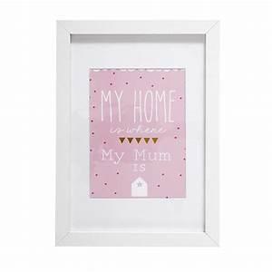 Bilderrahmen 30 X 20 : bilderrahmen wei rosa 20x30 cm louison maisons du monde ~ Eleganceandgraceweddings.com Haus und Dekorationen