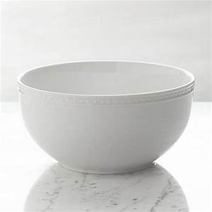Staccato Serving Bowl Crate and Barrel