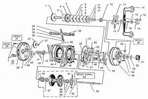 Abu Garcia 6000 C Parts List And Diagram