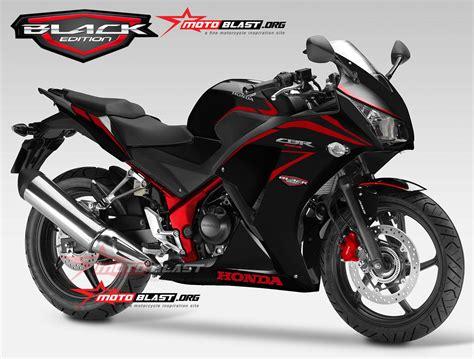 modif striping honda cbr250r cbr150r lokal black edition nyooorrrr motoblast