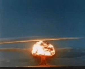 Nuclear Bomb Explosion Animated Gifs - Best Animations