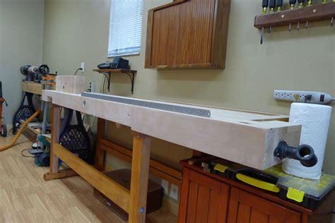 marks refurbished workbench  wood whisperer